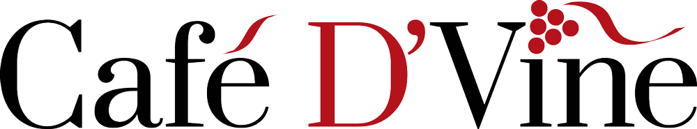 Cafe D'Vine Logo - image showing brand identity design.