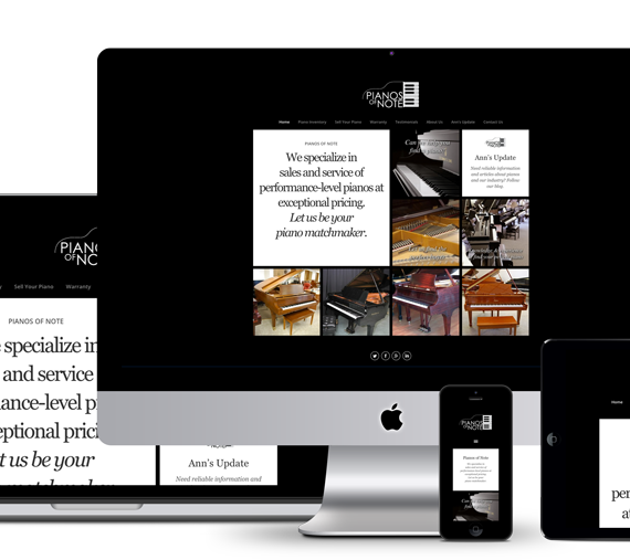Pianos of Note Responsive Suite