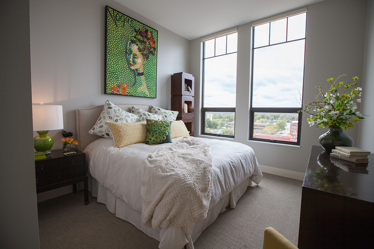 pmk photography - illumin8 image of bedroom work done for Colleen designs it