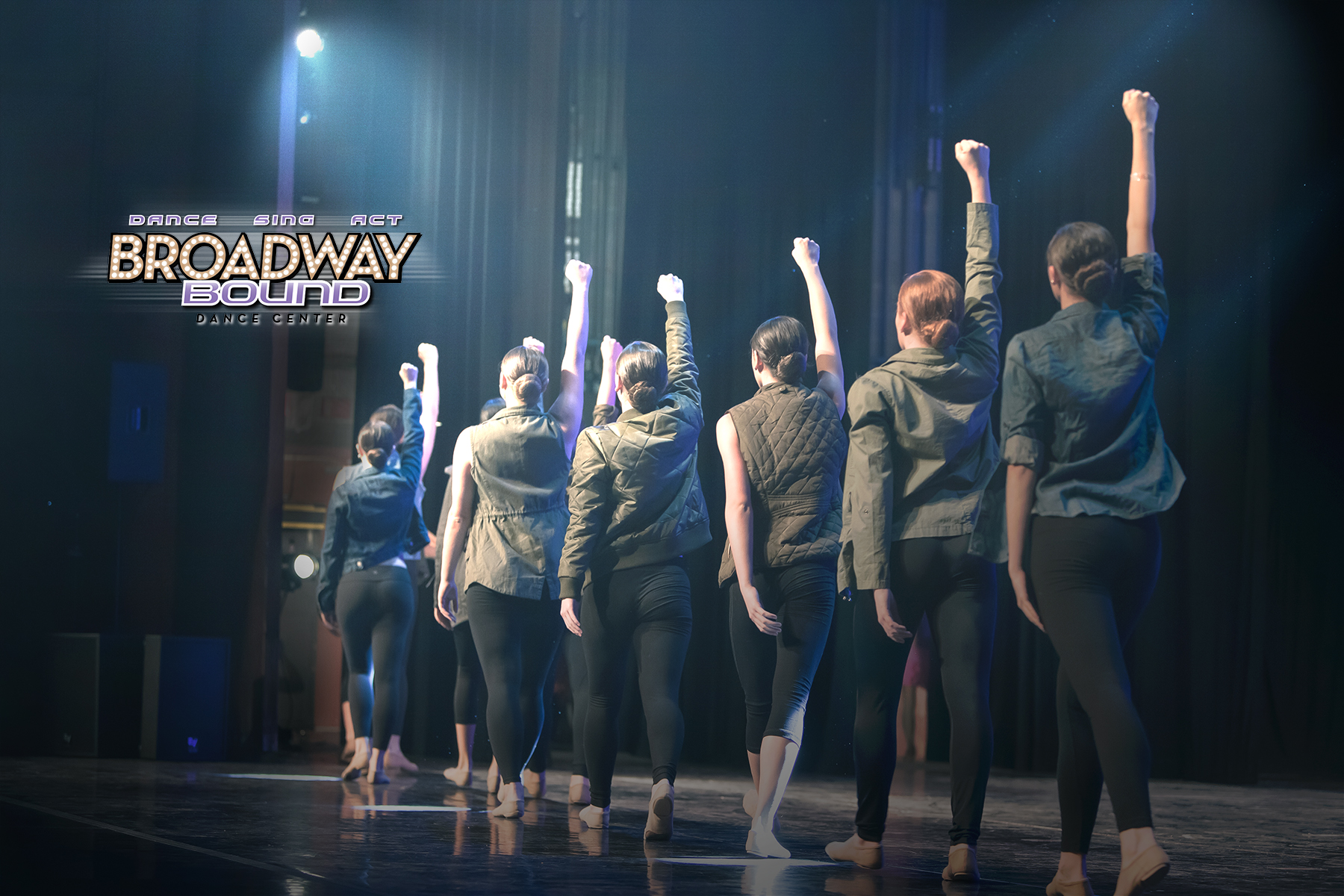 photography for Broadway Bound Dance Center