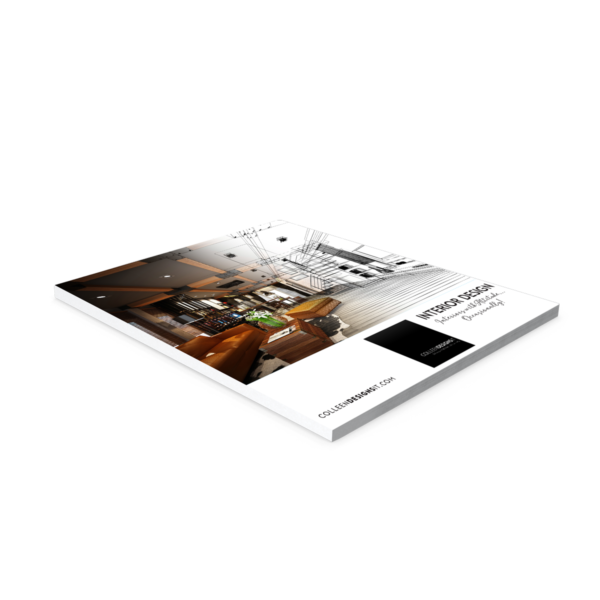 image of print and digital square brochure by illumin8marketing for colleendesignsit.