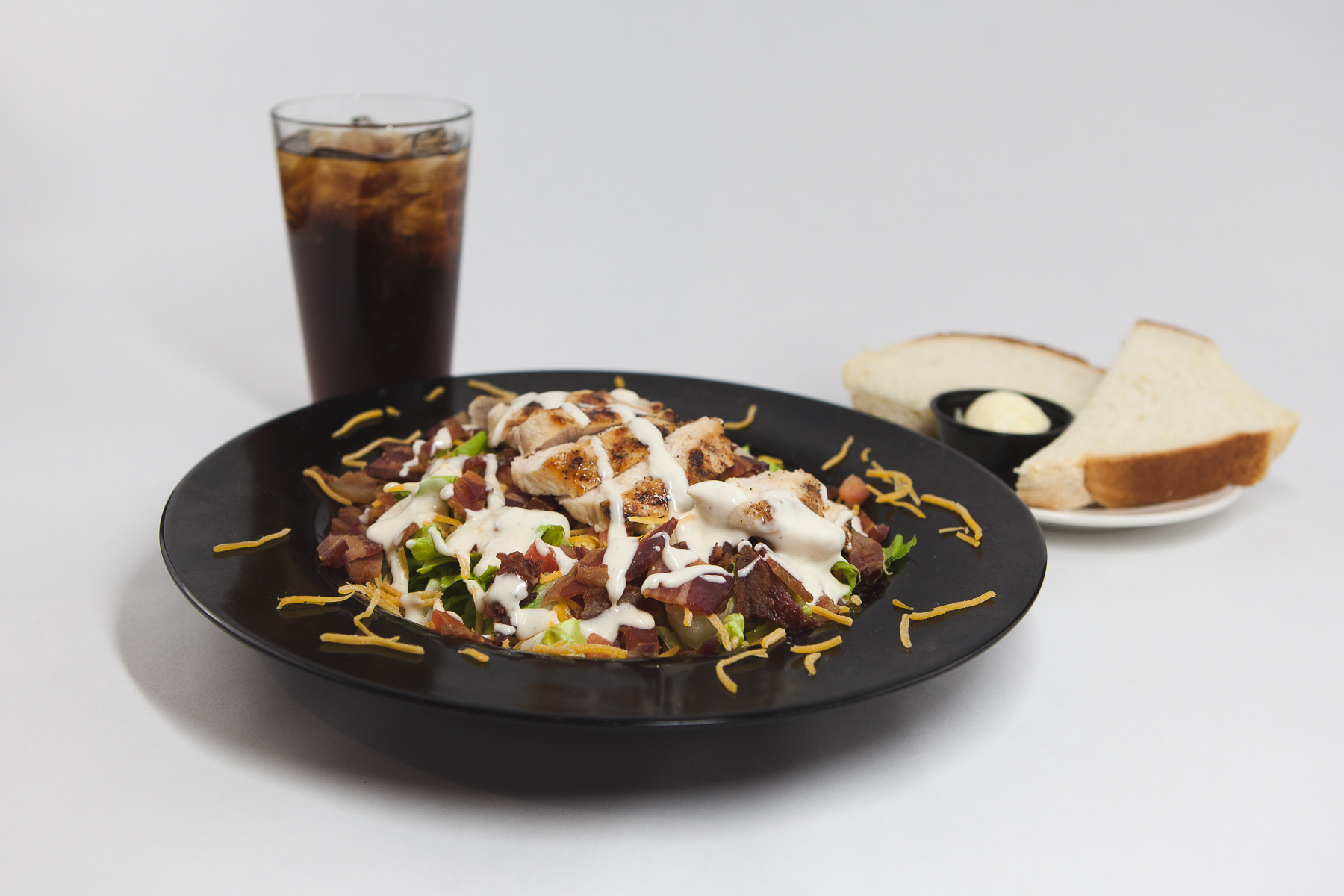 Food Photography for Tula's Northwoods Cafe - Southwest Salad