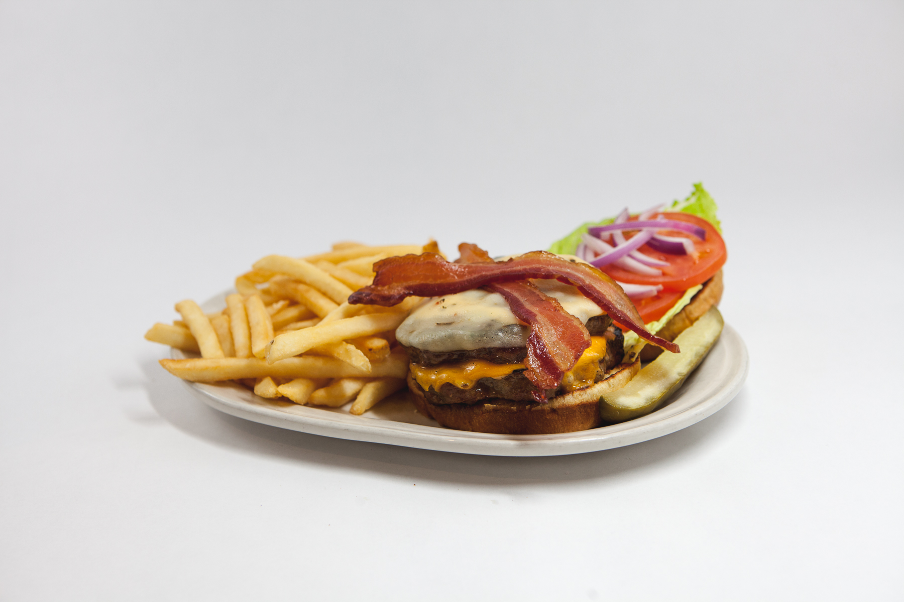 Food Photography for Tula's Northwoods Cafe - California Burger
