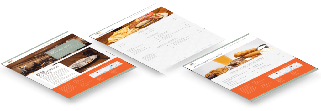 Image of Tula's menu pages from website.
